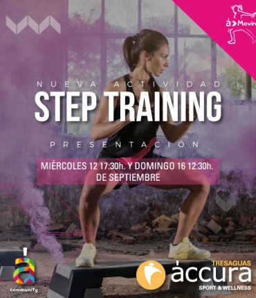 STEP TRAINING TRESAGUAS