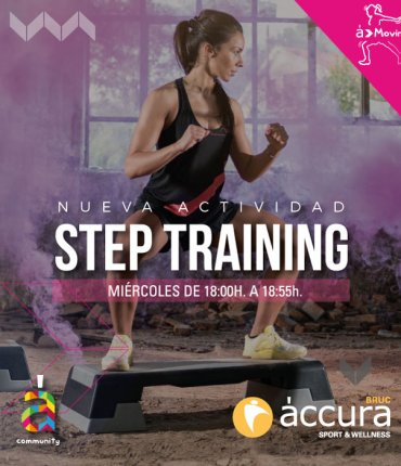 STEP TRAINING BRUC